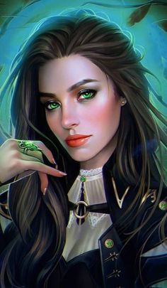 f Rogue Thief Royal Courier Leather Armor portrait story med Elymiart Fantasy Girl, Fantasy Art Women, Dark Fantasy, Final Fantasy, Photo Portrait, Portrait Art, Girl Cartoon, Cartoon Art, Female Images