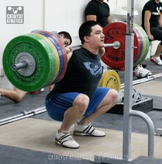 Squat Stance & the Olympic Lifts: The Snatch & Clean Receiving Positions by Greg Everett - Olympic Weightlifting - Catalyst Athletics - Olympic Weightlifting Monica Brant, Squat Workout, Boxing Workout, Glute Workouts, Exercises, Figure Competition Diet, Deep Squat, Squat Motivation, Body Motivation