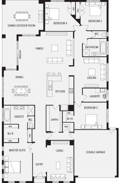 Its so interesting to see how different countries layout their floor plans. Jasper, New Home Floor Plans, Interactive House Plans - Metricon Homes - South Australia Bedroom House Plans, Dream House Plans, House Floor Plans, Australian House Plans, Australian Homes, Building Plans, Building A House, House Plans Australia, Bathroom Floor Plans