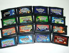 gameboy advance sp games | Pokemon Game Boy Advance