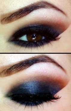 Smashbox Hyperlash Mascara Blackout, Bobbi Brown Eyeshadow Caviar, NARS Single Eye Shadow Silent Night, NARS Single Eye Shadow Bali, Dior Style Liner Intense Liquid Eyeliner Black 094