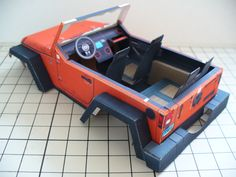 """Stomper"" JK Rubicon Jeep http://papercruiser.com/?p=1750 built by Tetsuya Hara"