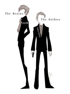 Sherlock - the brain and the soldier.