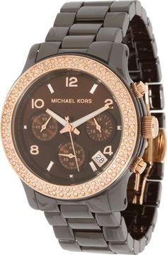Michael Kors Watches Runway (Brown)