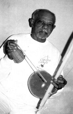 João Pereira dos Santos or Mestre João Pequeno de Pastinha (December 27, 1917 – December 9, 2011) began his life in Capoeira as a student of Mestre Gilvenson and later became a disciple of Mestre Pastinha - the father of contemporary Capoeira Angola. Together with Mestre João Grande he is later to share the honour of being one of the late Mestre Pastinha's two most learned students - the ones to whom he entrusted his legacy. Mestre João Pequeno died on 9 December 2011 at the age of 93.