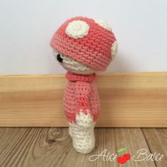 Tiny Lalylala | amigurumi crochet | tuto crochet gratuit Crochet Amigurumi, Crochet Hats, Panda, Hello Kitty, Lily, Deco, Cute, Plushies, Blue Prints