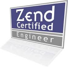 """Becoming a Zend Certified Engineer is a measure of your experience in the world of PHP. The goal of the Zend certification program is to allow PHP professionals to attain the """"Zend Certified Engineer"""" designation.  Soon.."""
