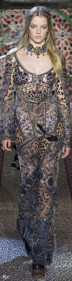 Spring 2017 Ready-to-Wear Roberto Cavalli