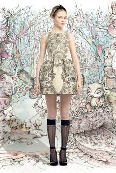Red Valentino's fall fairytale — Куклы, я и все,все, все