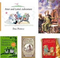 list of children's books (most vintage) with recommended reading age