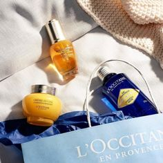 We don't know about you, but #PayDay sounds like a good reason to invest in natural and effective #SkinCare. Double tap if you think you deserve to #TreatYourself 💙 💛 #LOccitane #AntiAging #FaceCare