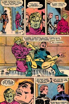 What do you when an unstoppable, unkillable doomsday machine threatens time and space?! You call MATTER-EATER LAD to eat that fucker, yo. Unfortunately, eating the Miracle Machine drove Tenzil insane for a while. But he got better.