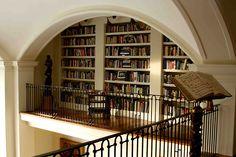 Interior designer Matthew White's library gallery.