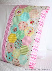 A Spoonful of Sugar: Hexie Pillowcase