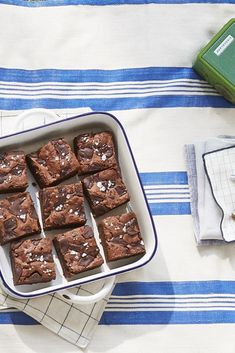 Fudgy Stout Browniescountryliving