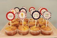 Olympics muffins #olympics