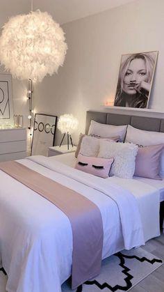 decorating my bedroom Teen Bedroom Designs, Bedroom Decor For Teen Girls, Cute Bedroom Ideas, Room Design Bedroom, Room Ideas Bedroom, Ikea Teen Bedroom, Teenage Girl Rooms, Girls Bedroom Decorating, Bedroom Ideas For Women In Their 20s