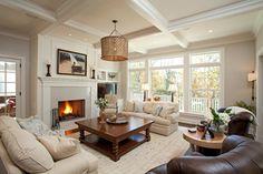 Smith Partners - farmhouse - Living Room - Minneapolis - Interiors By Holly