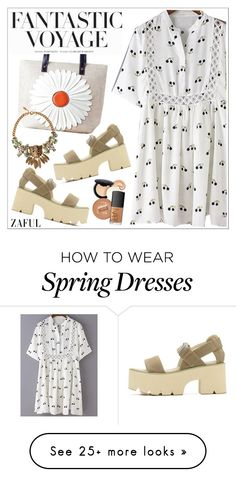 """""""Zaful"""" by teoecar on Polyvore featuring H&M, Roberto Cavalli and zaful"""