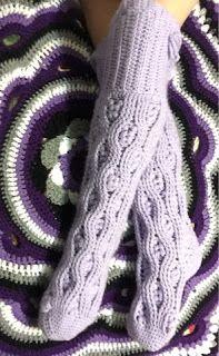 Prairie Girl Treasure: Woolie Over the Knee Socks - Free Crochet Pattern - LAYER SOCKS 4 U