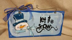 Hey, I found this really awesome Etsy listing at https://www.etsy.com/listing/249834445/snowman-winter-wooden-hand-painted-sign