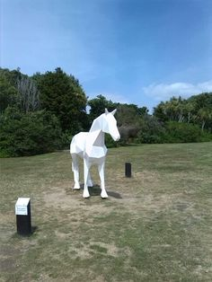 Sculpture at botanical gardens