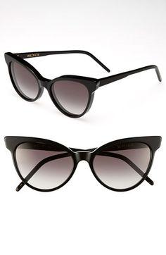 matte frame sunglasses - Black Wildfox IicBR81