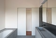 DC2 residence in tielrode belgium by vincent van duysen architects - natural stone by Eggermont
