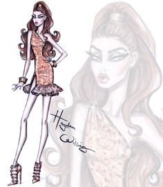 Red Carpet Glam: 'Rose Gold' by Hayden Williams