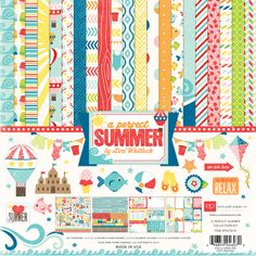 Echo Park Paper A Perfect Summer Collection