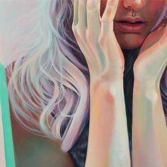 Work in progress for the solo @spoke_art coming | Martine Johanna