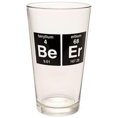 This made me giggle. Awesome beer glass. ~Think Geek