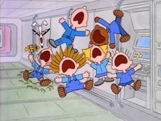 The NASA Space Station - Part of the This Is America, Charlie Brown series, the Peanuts crew goes aboard the NASA space station