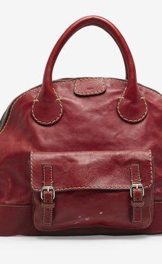 Chloé Red Handbag | VAUNTE