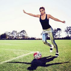 usswnt: Alex Morgan by James White for Health... - USWNT