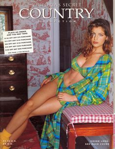 Laetitia Casta  -  VSC Fall Country 1997