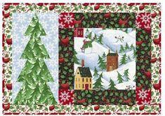 Quilt Inspiration: Free pattern day: Christmas Table Runners! Diy Christmas Tree Skirt, Christmas Patchwork, Christmas Topper, Christmas Quilt Patterns, Purple Christmas, Christmas Sewing, Christmas Crafts, Christmas 2015, Christmas Quilting