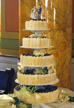 Tiramisu wedding cake!!