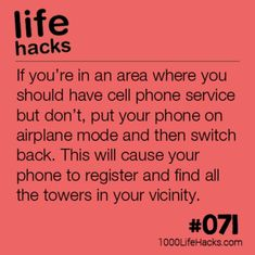 The post – Getting Your Phone Service Back appeared first on 1000 Life Hacks. The post – Getting Your Phone Service Back appeared first on 1000 Life Hacks. Hack My Life, Simple Life Hacks, Useful Life Hacks, Awesome Life Hacks, School Life Hacks, Survival Tips, Survival Skills, Survival Gadgets, Survival Quotes