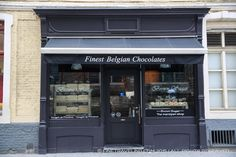 What to buy in Bruges, Belgium: Bruges Chocolates - Bruges is famous for its chocolates as evident by the hundreds of shops. - www.finetraveling.com