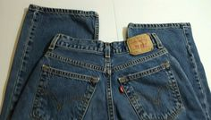 "LEVI'S 569 Boys Size 12 | Regular Jeans| Loose Fit Straight Leg |  25"" inseam #Levis #BaggyLoose #Everyday"