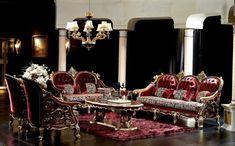 Luxury Living Rooms   Victorian luxury in the living room   Minimalisti.com