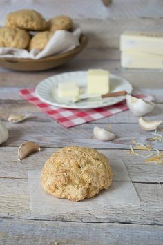 Garlic Butter and Cheddar Scones | thefirstyearblog.com