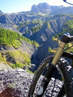The mountain bike trails await..