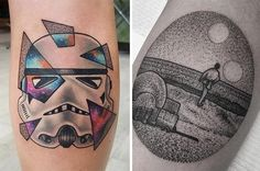 28 ''Star Wars'' Tattoos That Will Awaken The Force In You