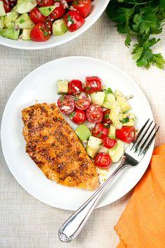 Delicious Meets Healthy   Honey Chipotle Chicken   http://www.deliciousmeetshealthy.com