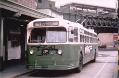 Trackless trolley--the 66 ran from the Frankford Terminal at Bridge and Pratt (connecting to the Elevated Train and subway system) to the eastern city limits near Andulusia in Bucks County.