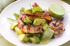 These succulent prawns are easy to make and will impress your guests!