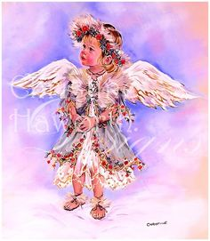 Angel Whispers : Angel Of Purity © Copyright Christine Haworth Designs