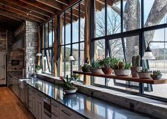 while the long counter top is a bit much- LOVE the Windows, Ledge and Plant feature